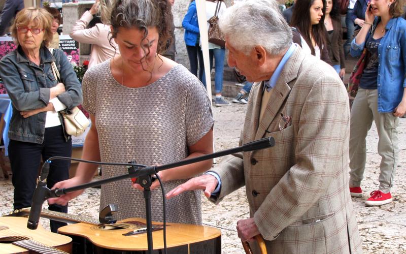 Laurna Røde plays at Verona Risuona